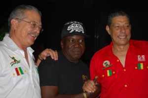 Robert Russell Barrington Levy Johnny Gourzong