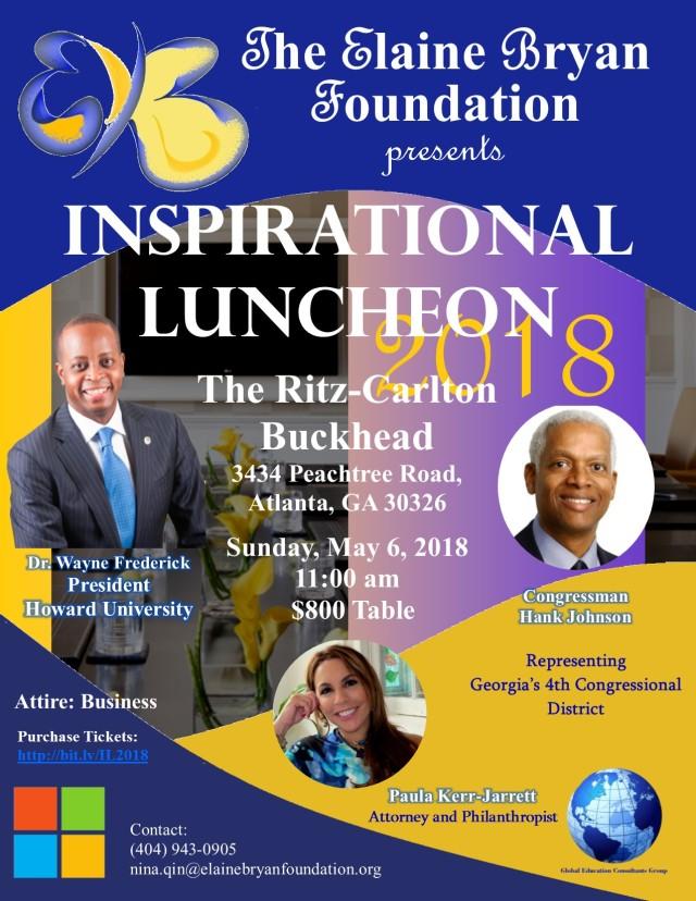 EBF_2018_Inspirational_Luncheon_and_Awards - Dr. Frederick_Kerr_Jarrett_Hank_Johnson
