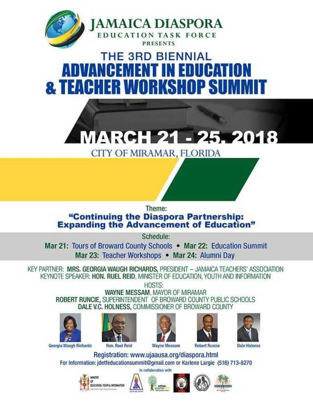 JDETF_3rd_Biennial_Education_Summit_2018