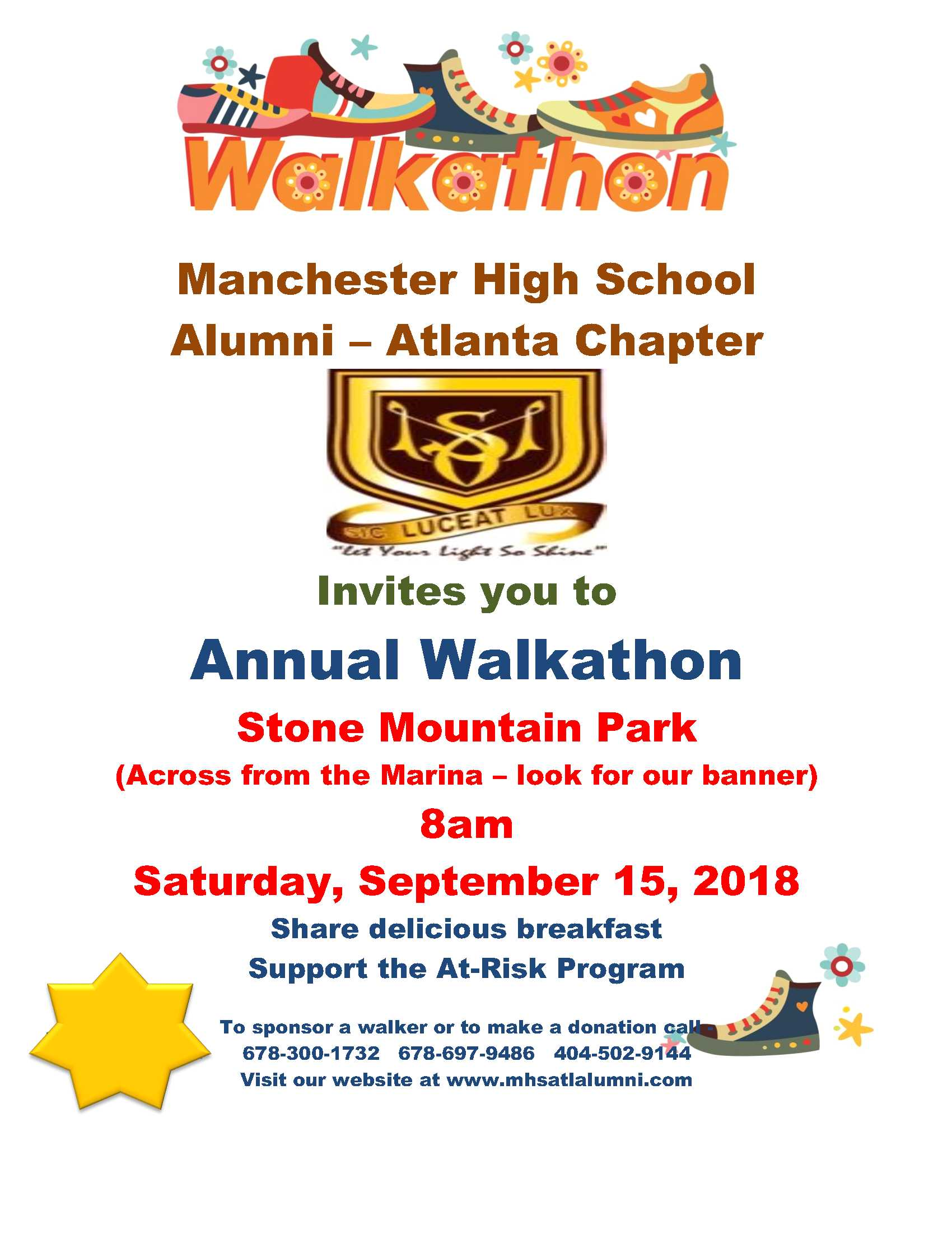 walkathon flyer 2018
