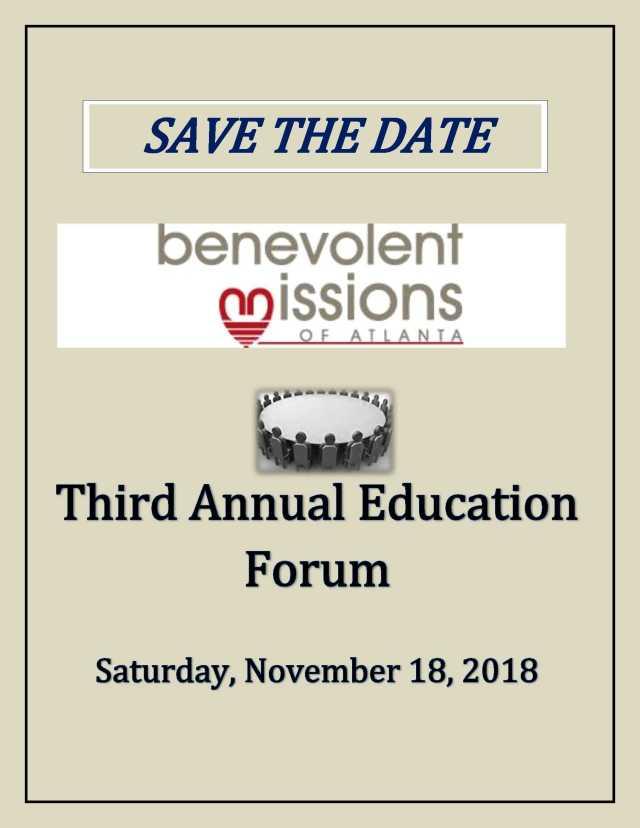 BMA Education Forum - 2018-1