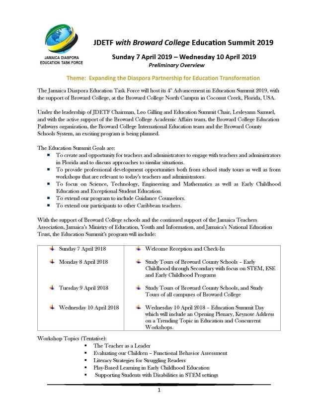 JDETF_Summit_2019_Prelim_Overview_2