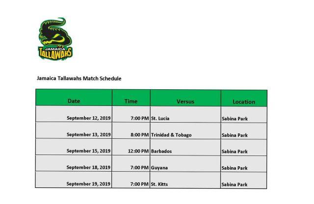 Jamaica Tallawahs Ticket Prices Match dates_2