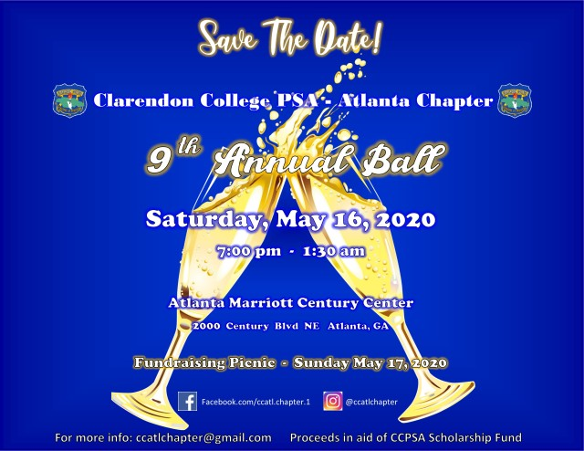 Save The Date 2020 Ball